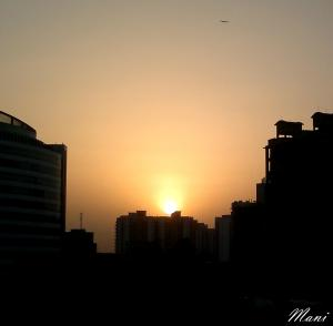 Gurgaon Sunset